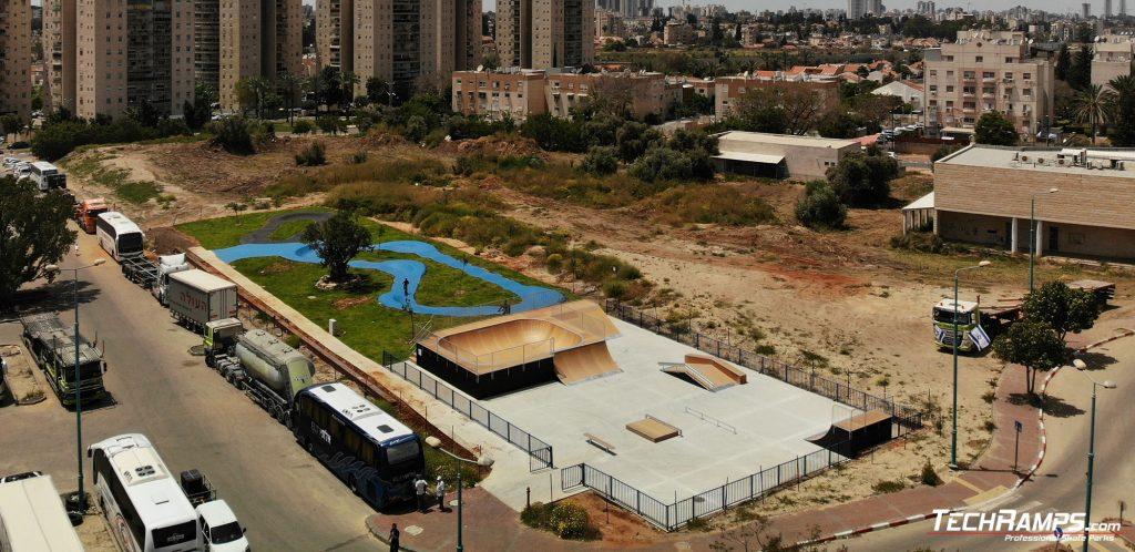 Modular skatepark - Ramla